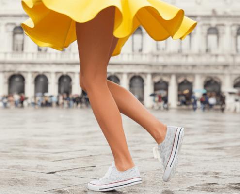 Benessere e leggerezza delle gambe