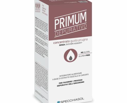 Primum Depurativo gusto Prugna